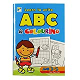Children's Educational Learn to Write ABC and Colouring Book