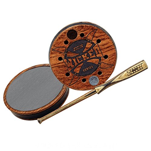 Wicked Series ~ Slate Acrylic Stabilized Cherry Pot ~ Zink Calls ~ Turkey Hunting - Call Turkey Friction Slate