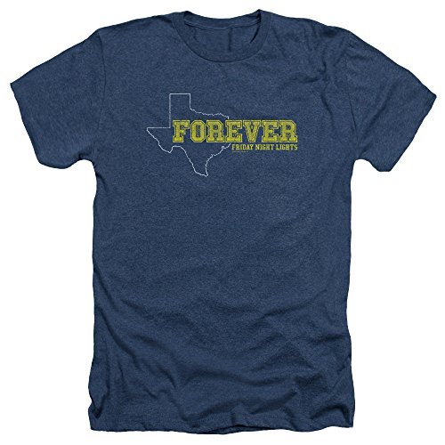- Friday Night Lights TV Series Texas Forever Adult Heather T-Shirt Tee