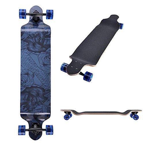 AW Canadian Longboard Complete Skateboard