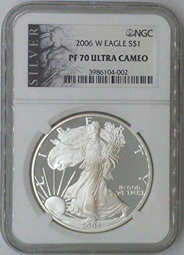 2006 W American Eagle $1 PF70 NGC PF
