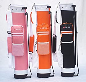 C13 Adult Golf Range Sunday Pencil Carry Bag Removable Top Cover w. Stand