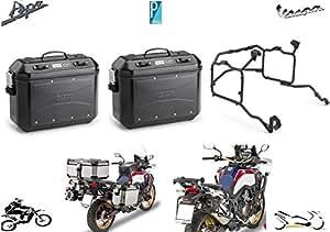 Givi 2 maletas dlm36bpack2 y soporte plr1144 Honda CRF 1000L Africa Twin 2016 - 17: Amazon.es: Coche y moto