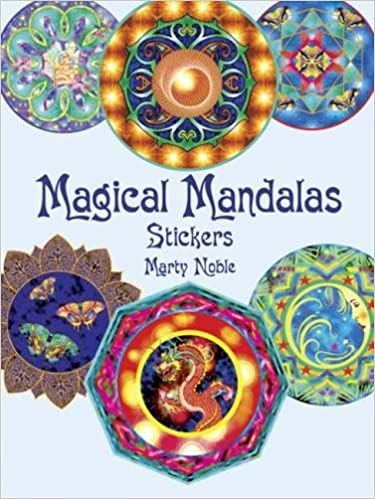mandala stickers dover stickers
