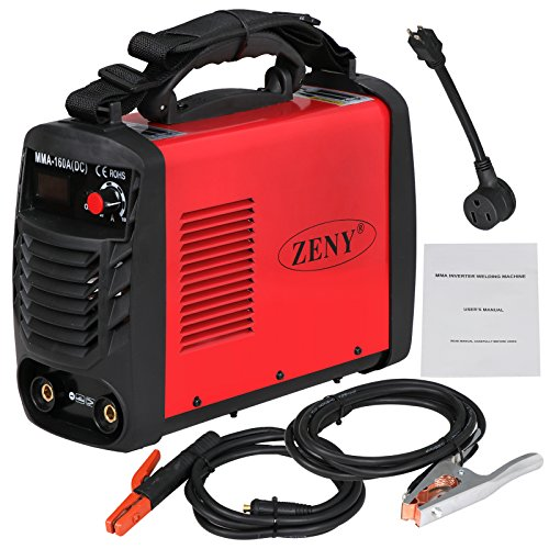 ZENY Arc Welding Machine DC Inverter Dual Voltage 110/230V IGBT Welder 160 AMP Stick