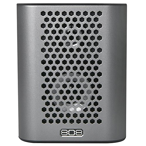 808 HEX TLS Bluetooth Speaker in Gunmetal Gray ()