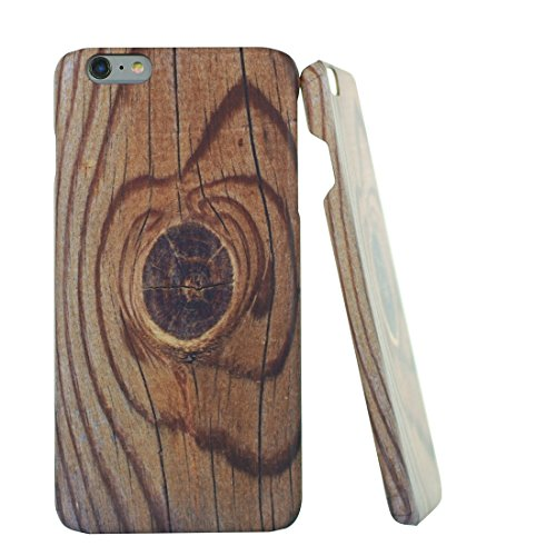 Paele:10122-6P iPhone 6 Plus Case, Wood grain (knag) Pattern Case | Wood grain (knag) Case for iPhone 6 Plus / iPhone 6S Plus (5.5 inch)