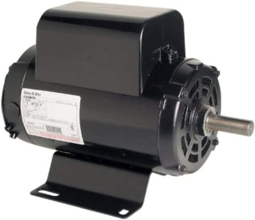 5 HP 3450 RPM R56Y Frame 208-230V Air Compressor Motor - Century # B384 - Electric Fan Motors -