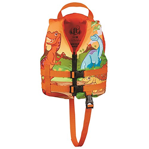 Full Throttle Child Water Buddies Life Vest, Dinosaur