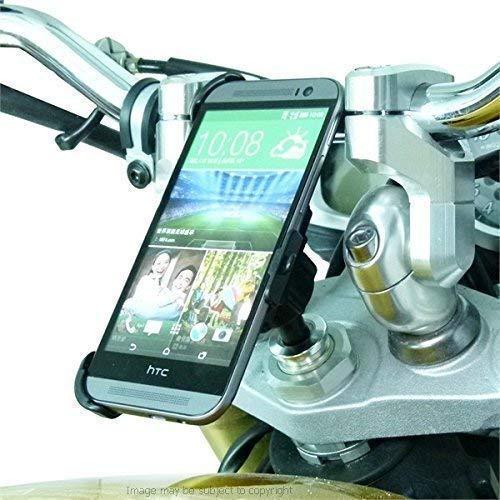 - 20.5-24.5mm Motorcycle Yoke Stem Mount for HTC ONE M8 fits CBR1000RR Fireblade (sku 19740)