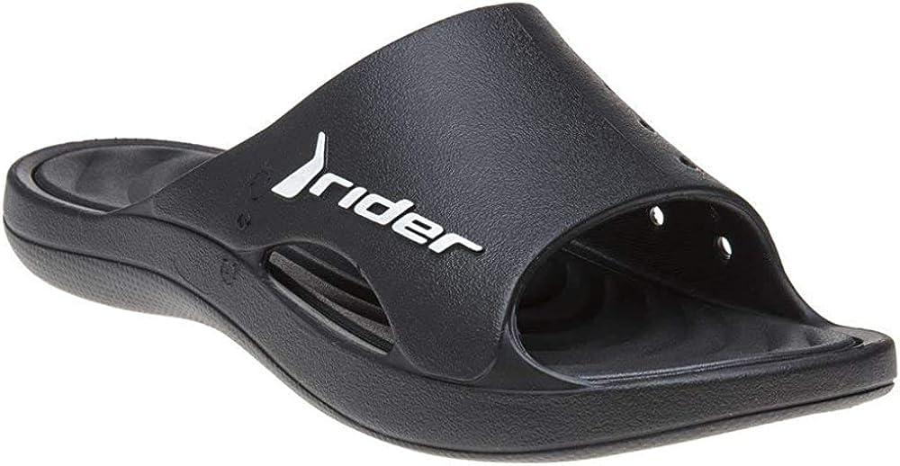 Rider Bay Slide Herren Sandalen Schwarz