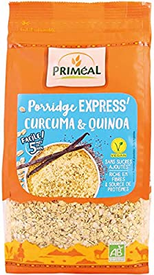 Porridge expres con Cúrcuma y Quinoa Priméal 350 ml: Amazon ...
