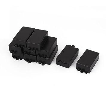 10 PIEZAS Impermeable Sellado Eléctrico Protector Caja De Conexiones 65mmx38mmx22mm: Amazon.es: Bricolaje y herramientas