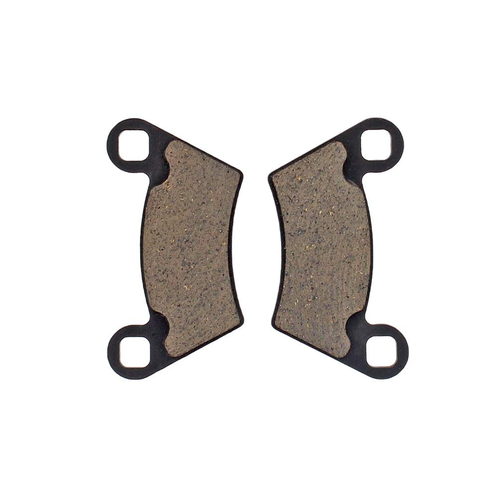 NICHE Organic Front Rear Brake Pad Set For Polaris Ranger 500 570 800 Replaces 2202413 2202097 1910514 1910672