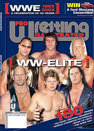 Pdf Outdoors Pro Wrestling Illustrated Magazine-CLASSIC ISSUE 40th anniversary of WWE; Bruno Sammartino, Pedro Morales, Hulk Hogan, John Cena, Dwayne Johnson, Bob Backlund, ... Bret Hart, Steve Austin +many many more!