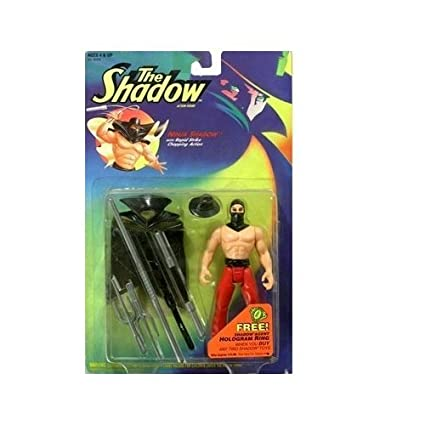 Amazon.com: The Shadow Ninja Shadow Action Figure: Toys & Games