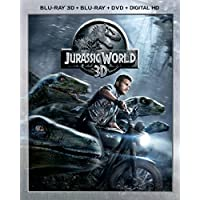 Jurassic World 3D on (Blu-ray/DVD)