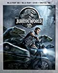 Cover Image for 'Jurassic World 3D (Blu-ray 3D + Blu-ray + DVD + DIGITAL HD)'