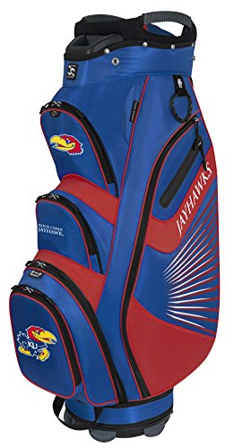 (Team Effort Kansas Jayhawks The Bucket Ii Cooler Cart Bag)