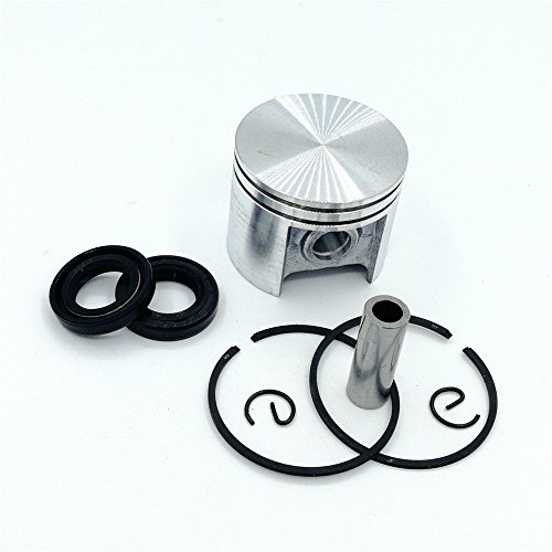 shiosheng 42.5mm Piston Ring Oil Seal Kit For STIHL 025 MS250 MS 250 Chainsaw Engine Motor Parts 11230302000 96380031581