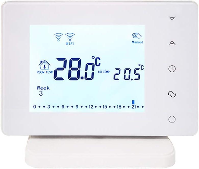 220V-240V Beok inalámbrica WiFi termostato Inteligente para la Caldera de Gas del regulador de Temperatura USB Alimentado Funciona con Google Inicio Alexa