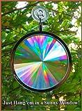 Suncatcher - Axicon Rainbow Window - Includes Bonus Rainbow on Board Sun Catcher