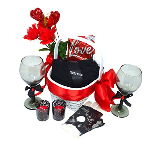 Exotic Wedding Bouquets (Better Supplies Sweet Enchantments Gift Basket - Enchanted Valentine's Day Gift - Sexy Valentine's Gift Set (Robe With Gloves))