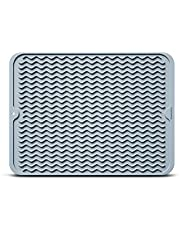 HowiseAcc Silicone Dish Drying Mat,Drying Mat For Kitchen counter, Heat Resistant Mat,Easy Clean drainboard mat, Non-Slip Dish Drainer Pad for Kitchen Counter …