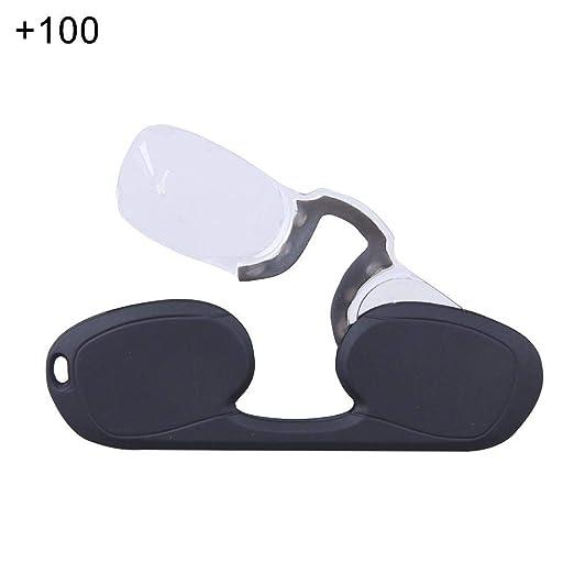 whelsara Gafas de Lectura Mini Gafas de Lectura portátiles ...