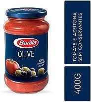 Molho Tomate e Azeitona Olive Barilla 400g