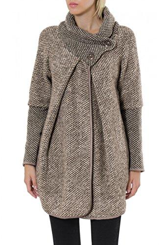 d77d8da9581c pull cardigan femme fashion fermeture eclair julia couleur noir
