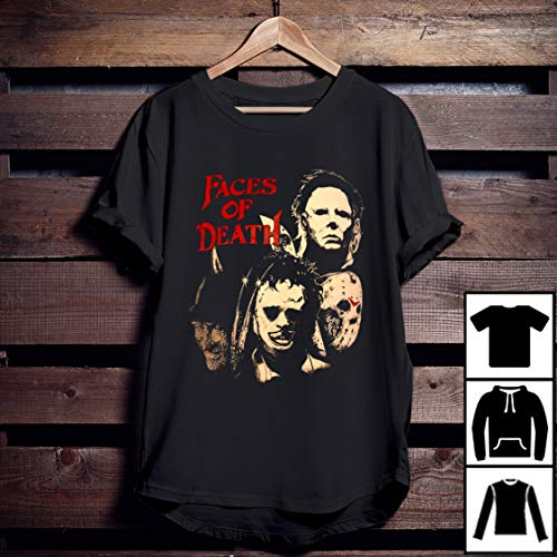 Faces Of Death - Slashers T-shirt, Michael Myers shirt, halloween -
