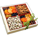 Organic Stores Gift Baskets Gift Assortment, Sweet Harvest Fruit and Nuts