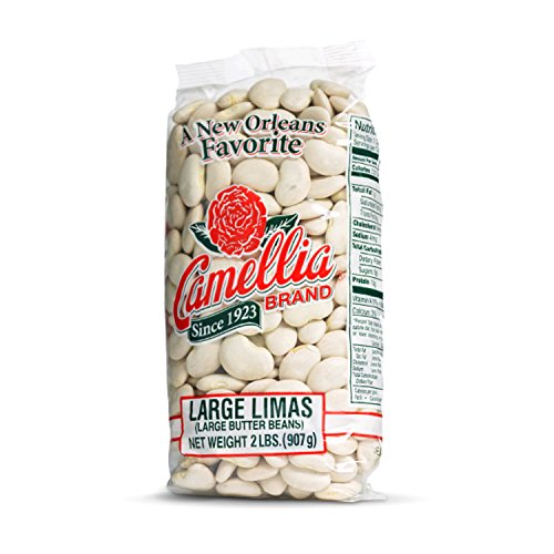 Camellia Large Lima Beans 2 Pounds (Best Special Basmati Rice Review)