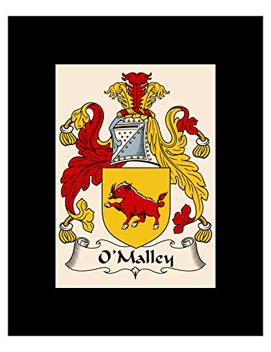 - Carpe Diem Designs O'Malley Coat of Arms/O'Malley Family Crest 8X10 Photo Plaque, Personalized Gift, Wedding Gift