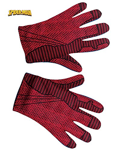 Rubie's Costume Men's The Amazing Spider-Man Adult Gloves, Red, One Size ()