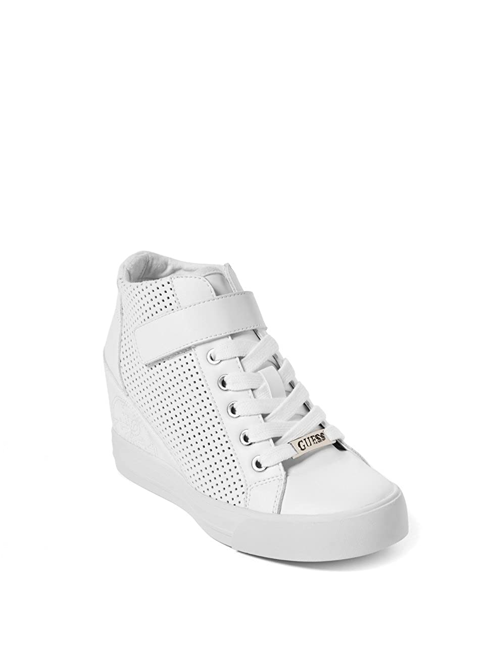 Guess Women's DECIA2 Sneaker, White, 5 M US