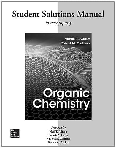 amazon com solutions manual for organic chemistry 9780077457471 rh amazon com Physics Solutions Manual Physics Solutions Manual