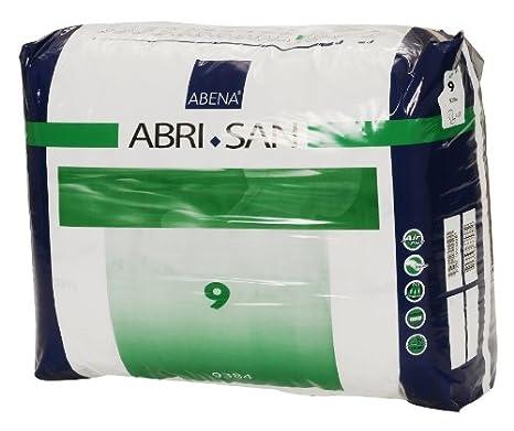 Amazon.com: Abena Abri-San Premium Incontinence Pads, Size 9 - Forte, 25 Count: Health & Personal Care