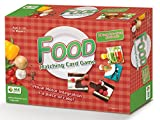 Food - Matching Card Game. Educational Game that Promotes Cognitive & Fine Motor Skills and Helps Stimulate Conversation about Nutrition