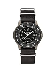 Traser Commander Military Titanium Watch with Sapphire Crystal, Carbon Fiber Bezel P6506.430.32.02