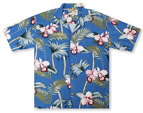 d Bamboo - Peri Hawaiian Shirt (Island Paradise Hawaiian Shirt)