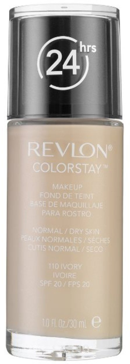Revlon Colorstay Makeup with SoftFlex, Normal/Dry Skin SPF 15, Ivory [110] 1 oz