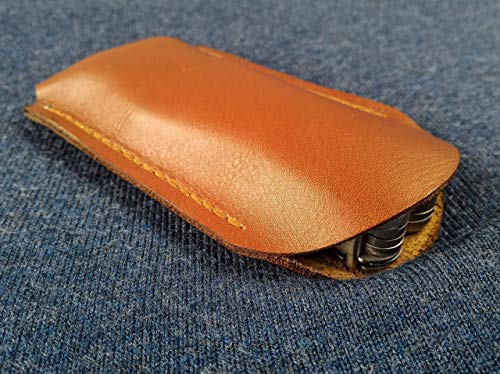 Leather pocket pouch for Leatherman Wave , multitool case, leather pocket multitool sheath, every day carry, EDC, leather knife holster