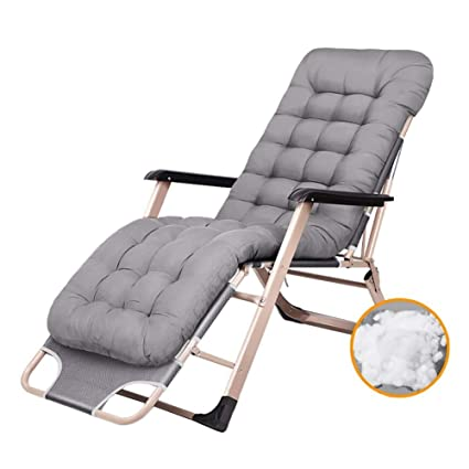 Amazon.com: DASKHOME Patio Lounger Chair Comfortable ...