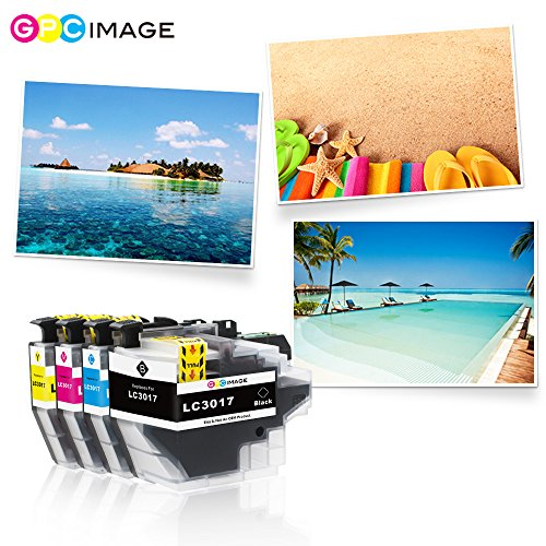 GPC Image Compatible Ink Cartridge Replacement for Brother LC3017 LC 3017 for Brother MFC-J6930DW MFC-J5330DW MFC-J6530DW MFC-J6730DW Printer 4 Pack (1 Black, 1 Cyan, 1 Magenta, 1 Yellow) Photo #3