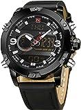 Naviforce Analog-Digital Black Dial Men's Watch-NF9097