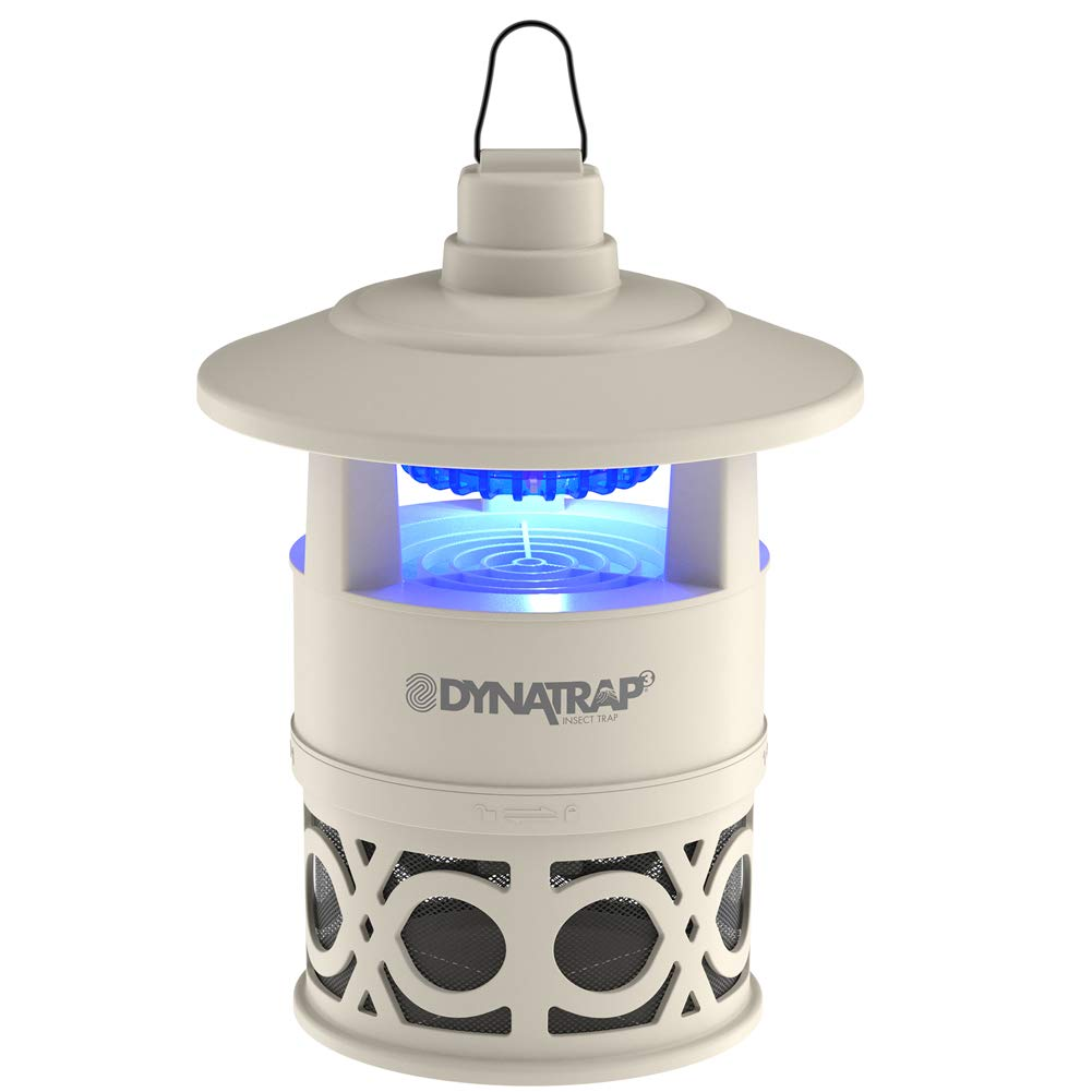 DynaTrap Outdoor Insect Trap (DT160-DEC2), Ultralight, 1/4 Acre, Sonata Series, Stone by DynaTrap