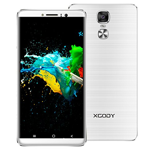 Xgody Y14 6 Inch Dual SIM Cell Phones Unlocked Android 5.1