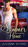 Front cover for the book The Summer He Came Home (Bad Boys of Crystal Lake) by Juliana Stone